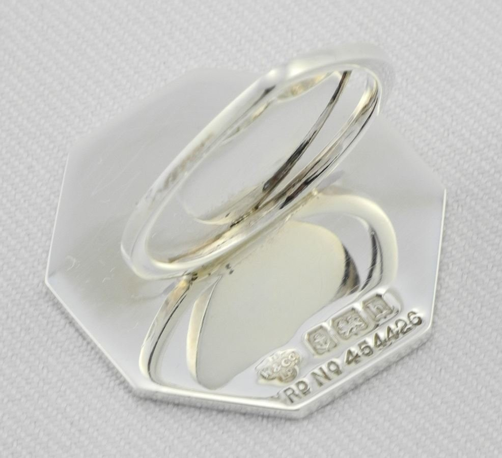 Cased set of Place Card Holders. - 3