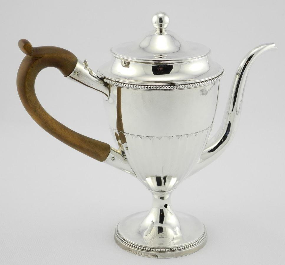 George III Silver Argyle, London - 1785, maker John - 3