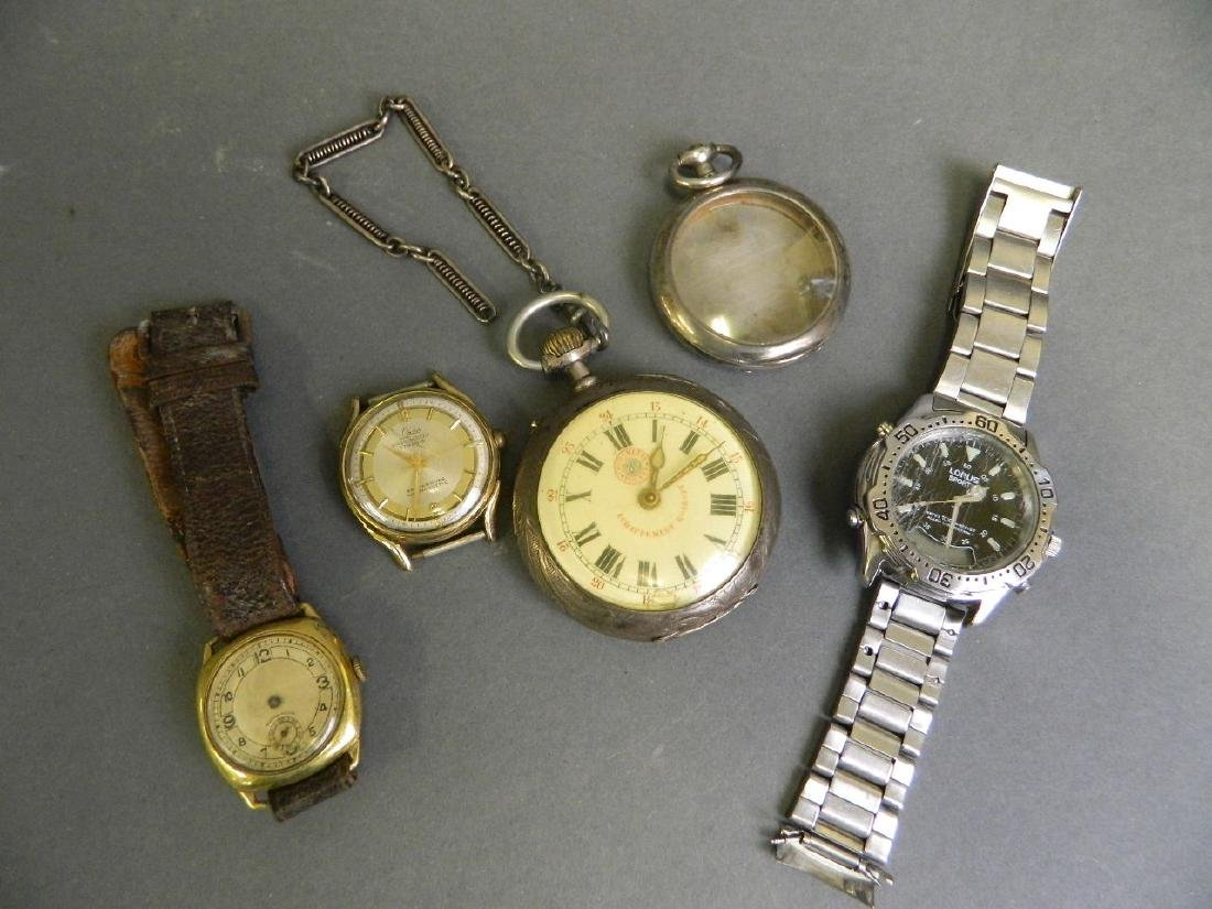 A Continental silver cased Cronometro Polare pocket