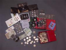 A large collection of coins British and World to