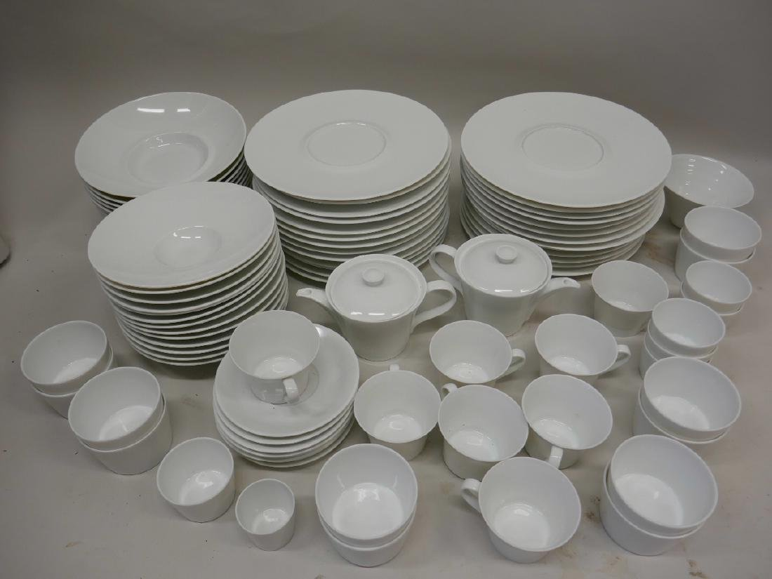 A large quantity of Limoges Bernadout pattern dishes