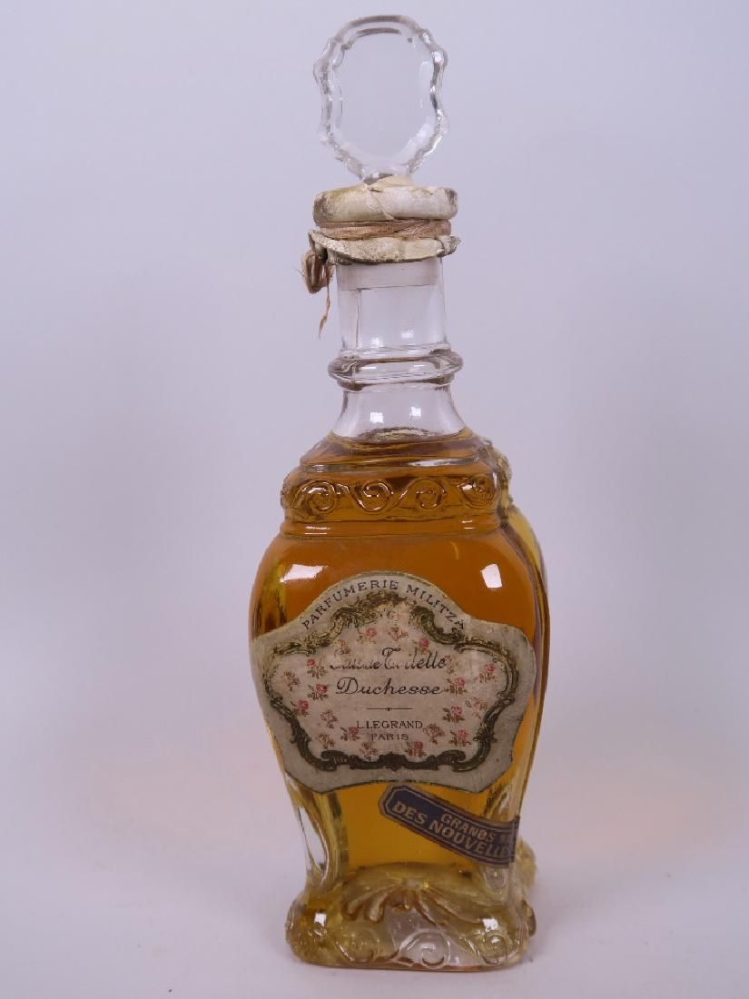 An early C20th unopened bottle of perfume by L. Legrand