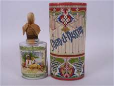 An early C20th perfume bottle from J Grossmith and