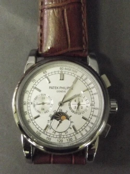A replica Patek Philippe Gentleman's Wristwatch With