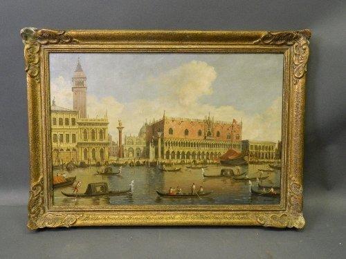 Alberto Terrini, 'The Doge's Palace, Venice', oil on