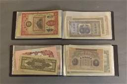 A quantity of facsimile Chinese bank notes in 2 collect