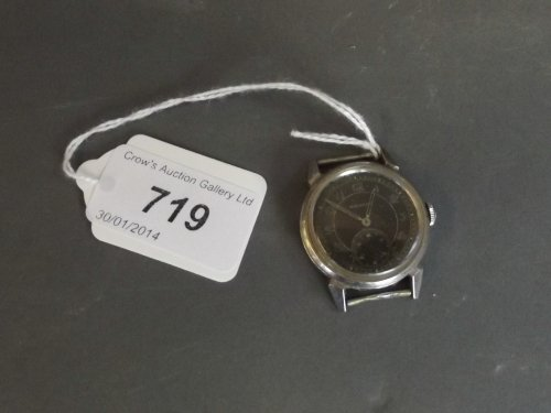 A 1920s Movada gentleman's wristwatch (AF)