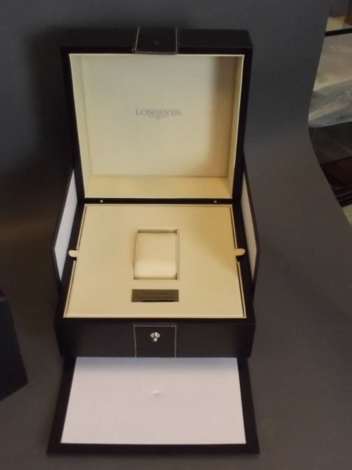 A Longines Legend Diver Watch collector's box with - 3