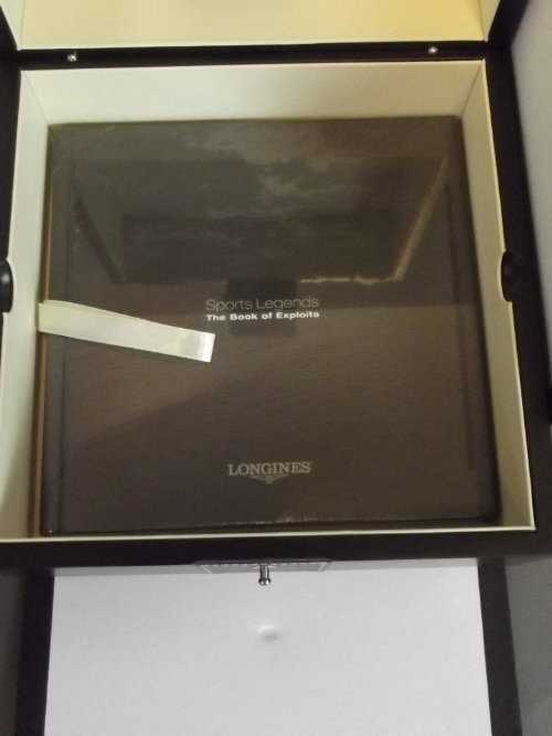 A Longines Legend Diver Watch collector's box with - 5