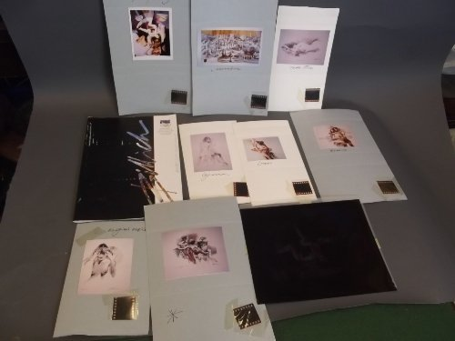 A quantity of photographic prints by Charles Billich,