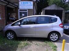 A Honda Jazz 1.4 automatic car with paddle shift gears,