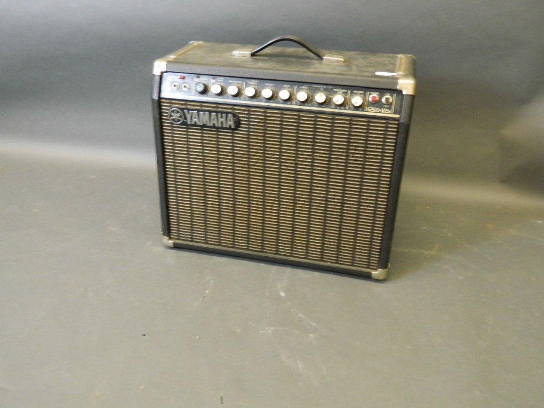 A vintage Yamaha G50-112 electric guitar amplifier,