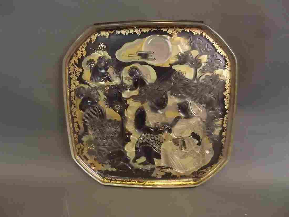Bjørn Wiinblad Rosenthal, Limited Edition glass plaque