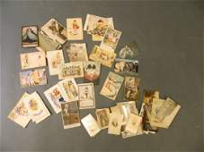 A collection of late C19thearly C20th postcards and