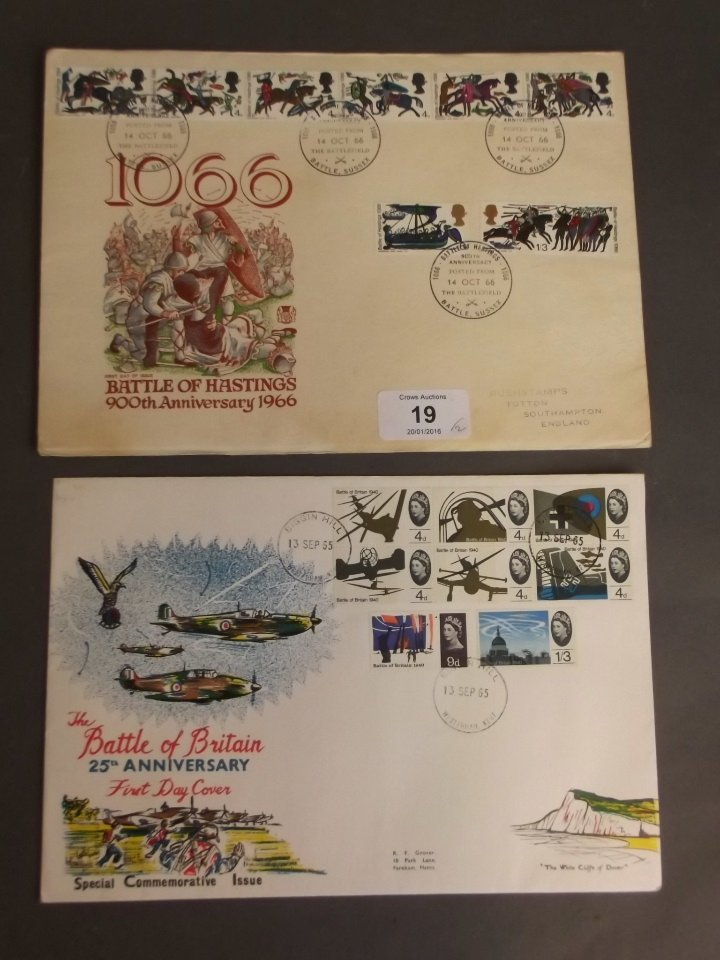 A Battle of Britain 25th Anniversary First Day cover,