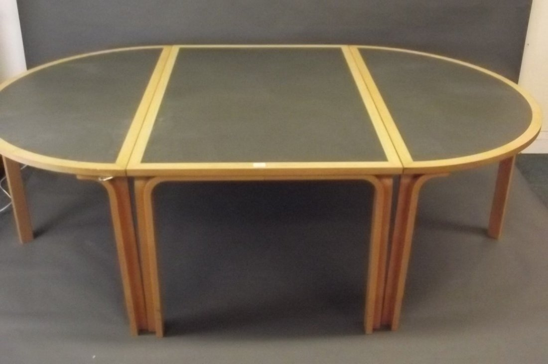 A Magnus Olesen for Durup three section boardroom table