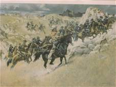 Frank C. McCarthy, 'US Cavalry Skirmish in the mid