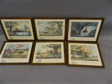 A set of six Limited Edition prints by Norman Thelwell