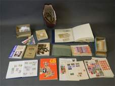 A large collection of British stamps including George
