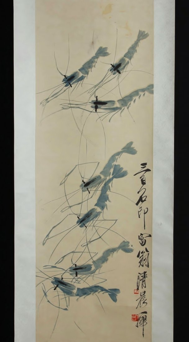 CHINESE PAINTING BY QI BAISHI 齊白石