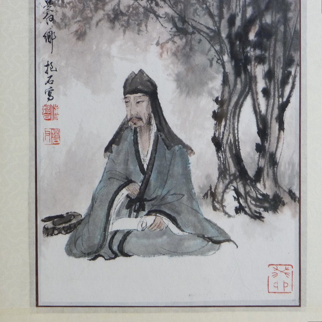 CHINESE PAINTING BY FU BAOSHI