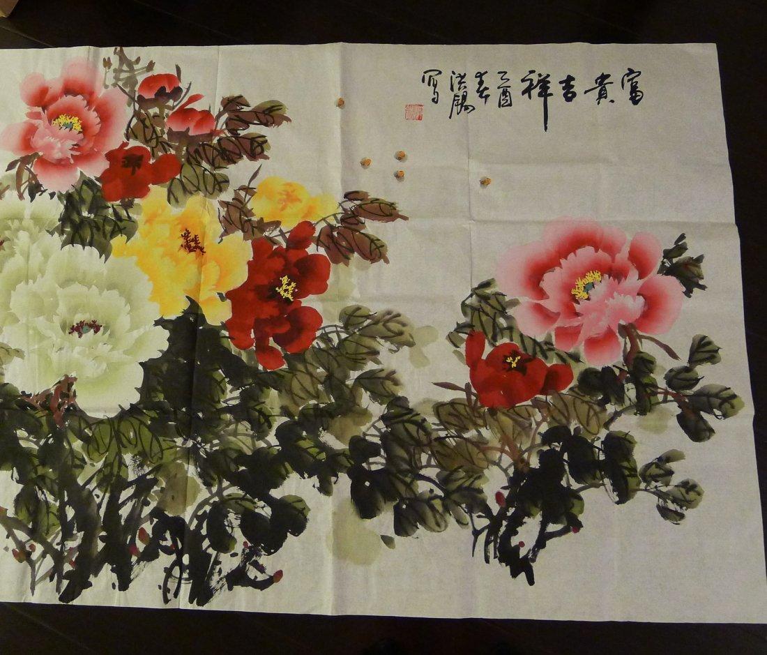 CHINESE PAINTING BY CHU HONGXI