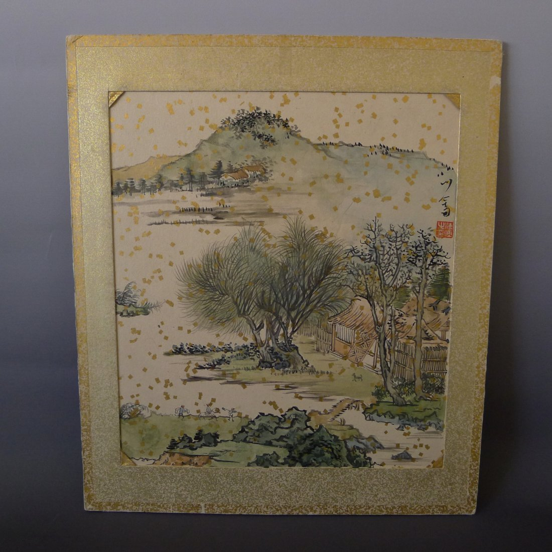 CHINESE PAINTING SIGNED BY PU HSINYU