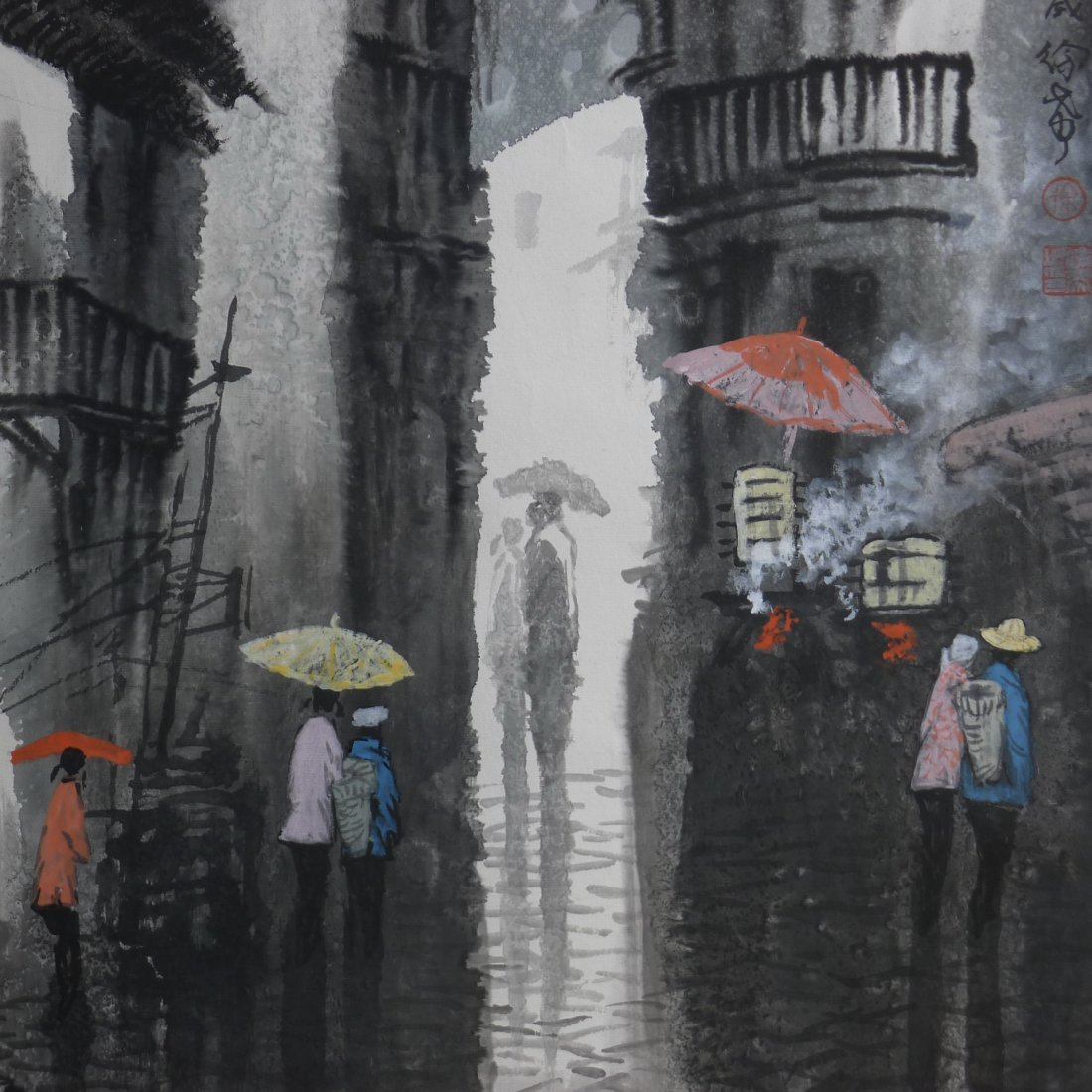 CHINESE PAINTING BY XU XI