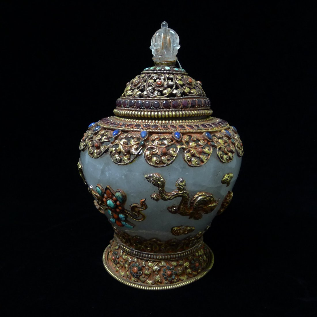 TIBET CRYSTAL JAR