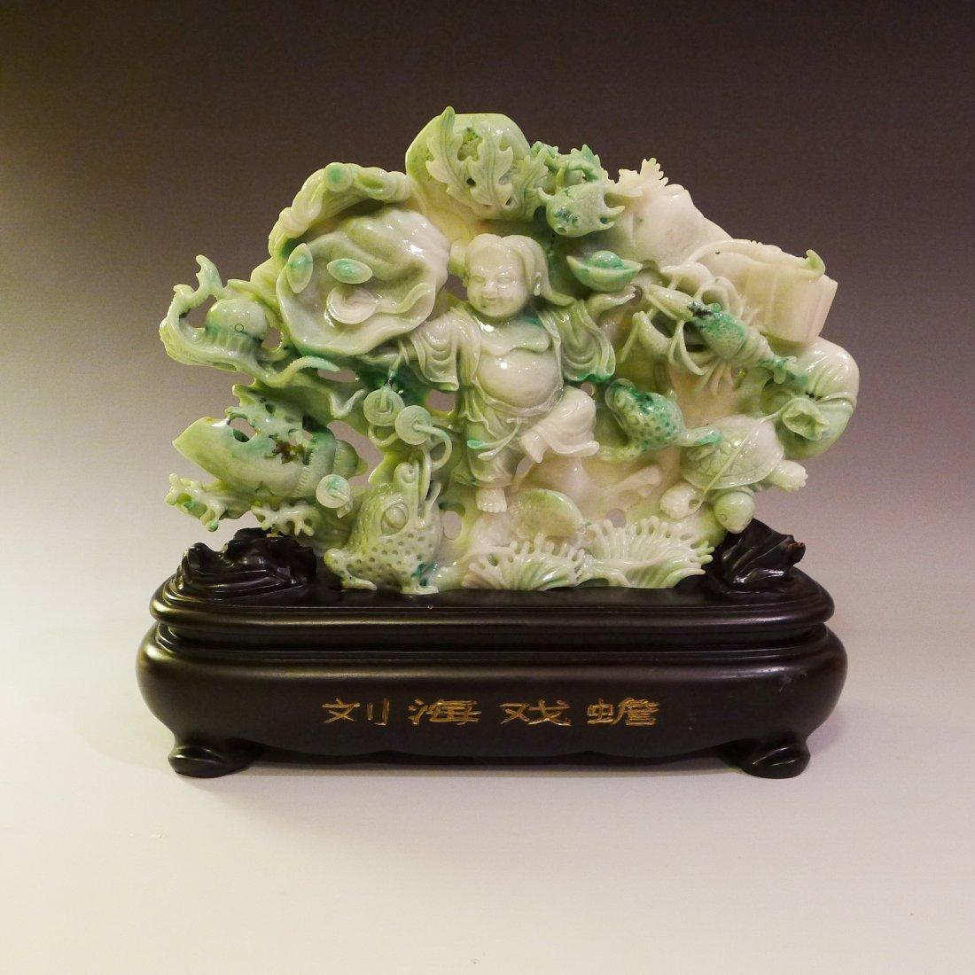 CHINESE JADE DECORATION