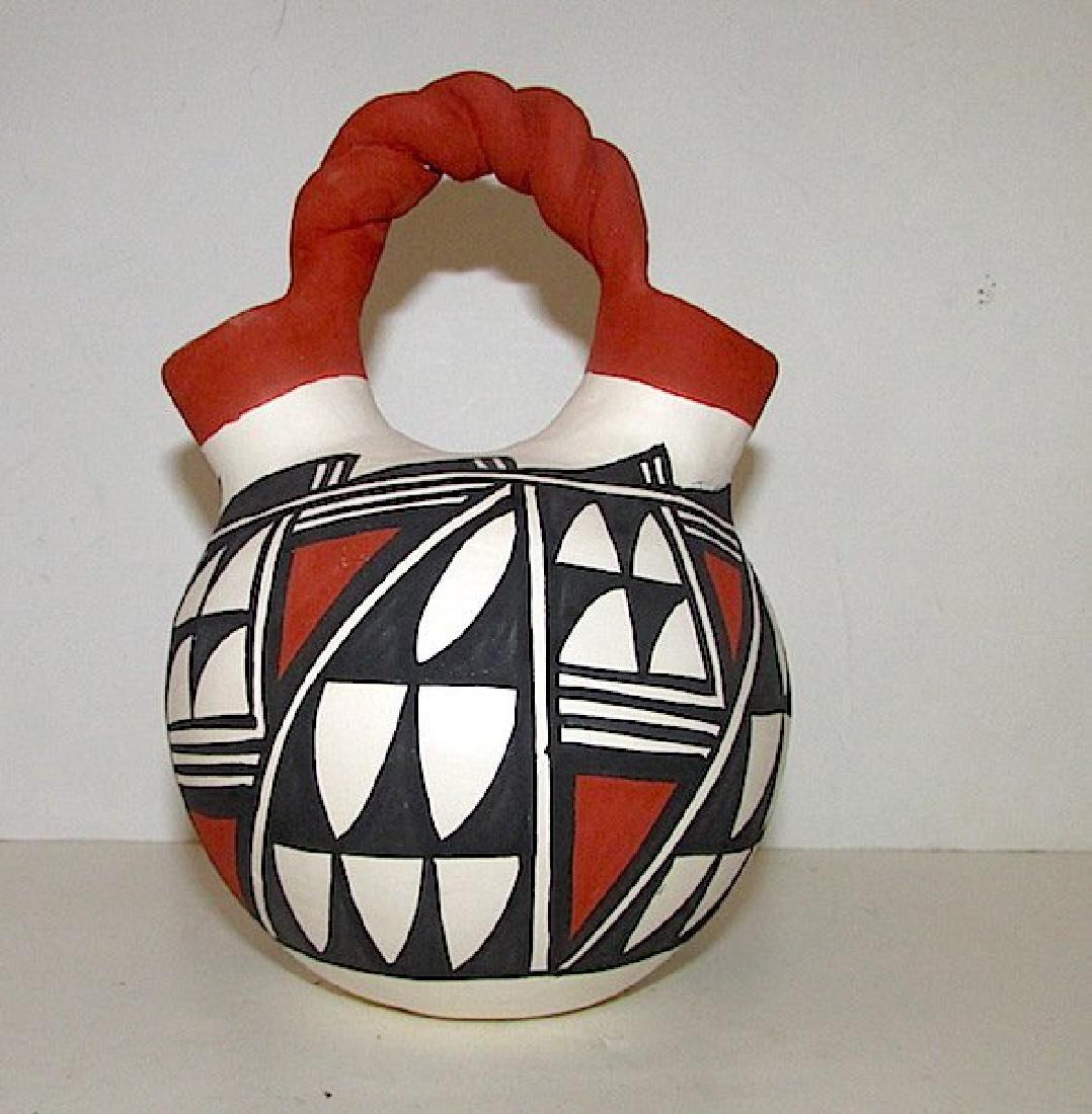 Acoma Pueblo Wedding Vase Pottery