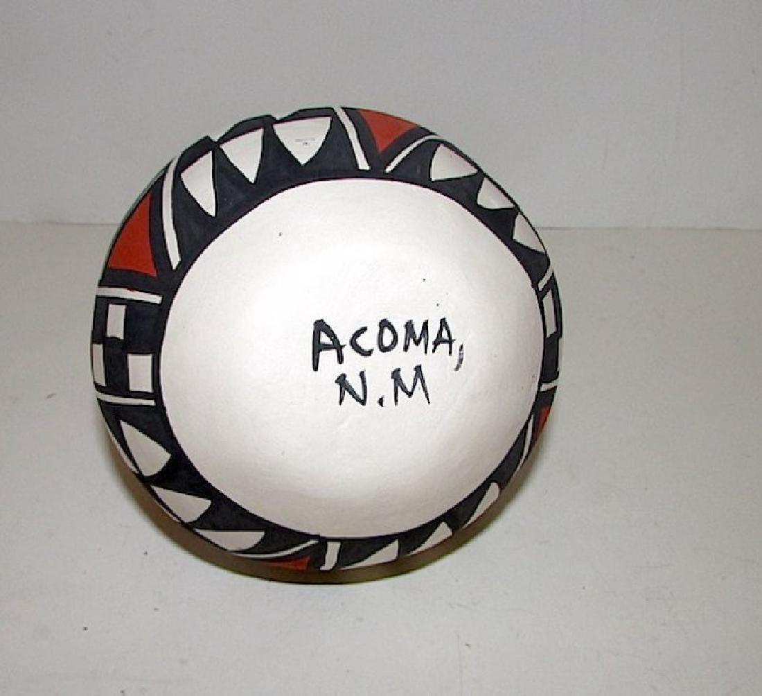 Acoma Pueblo Wedding Vase Pottery - 2