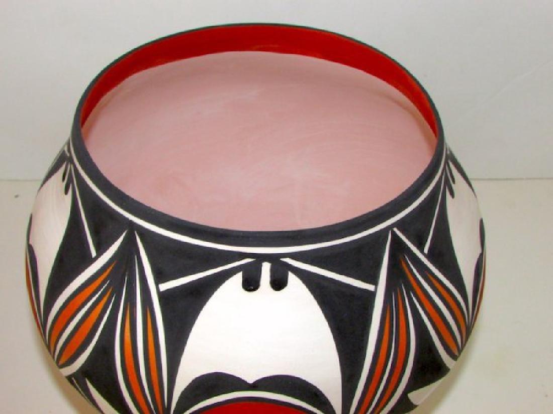 Vintage Acoma Pueblo Collecor Pottery - 2