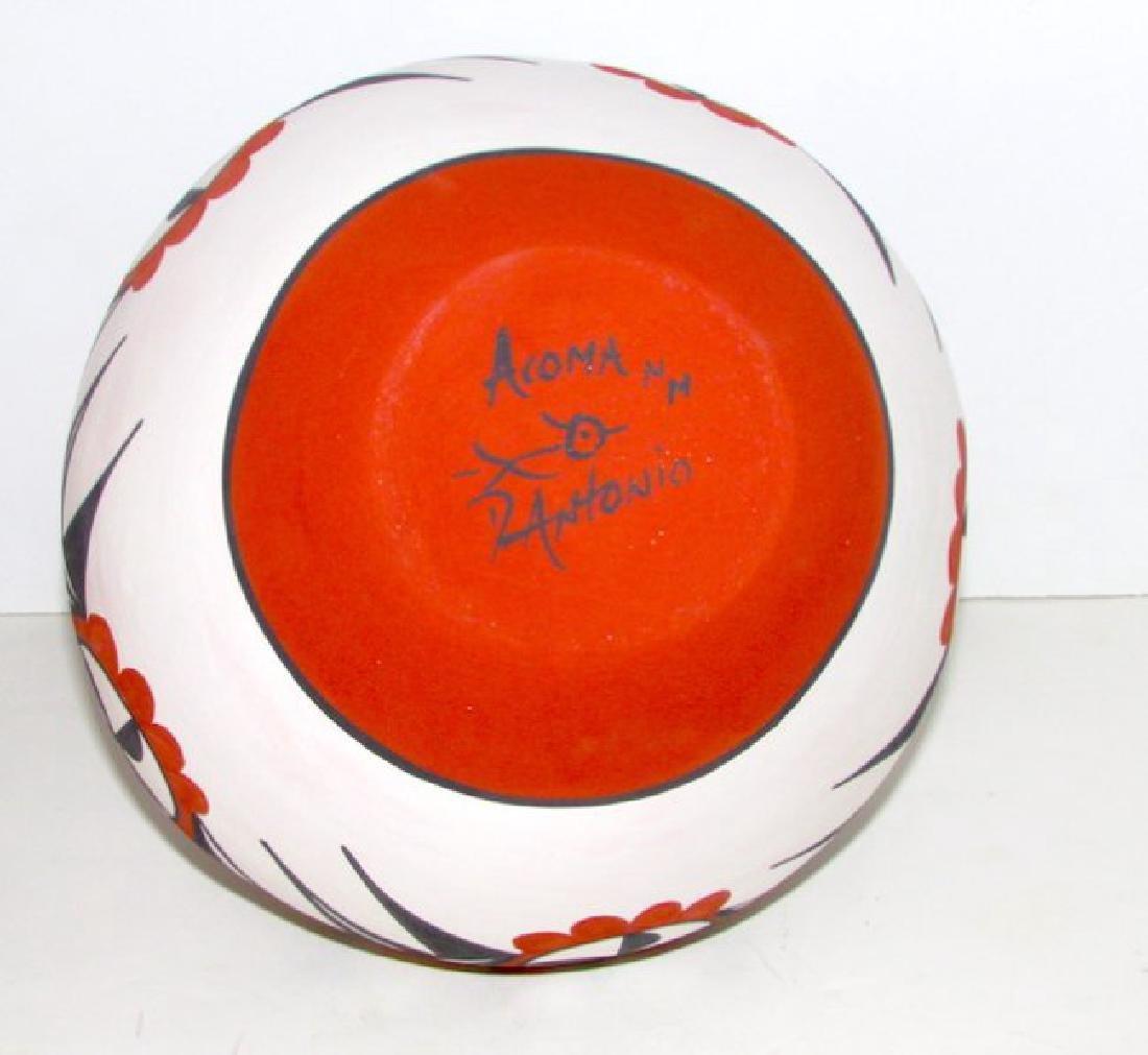 Vintage Acoma Pueblo Collecor Pottery - 3