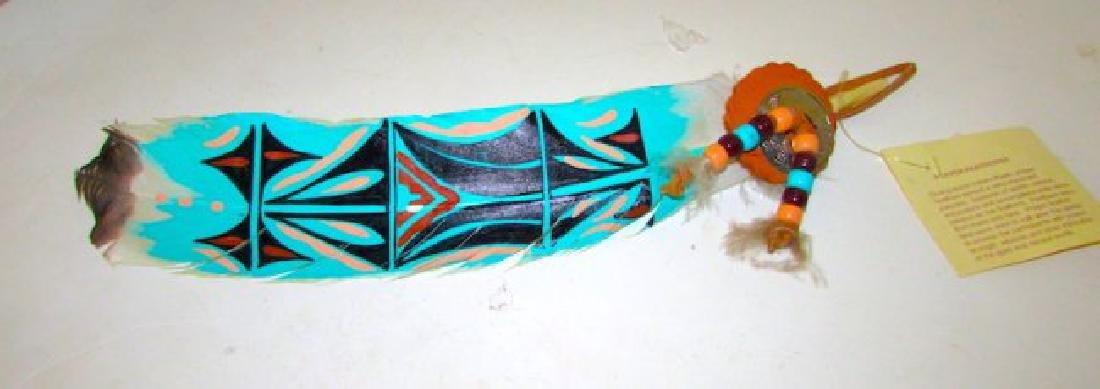 Vintage Native American Prayer Feather Artifact