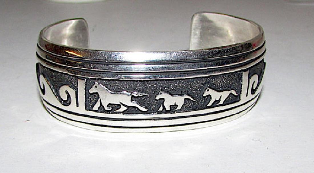 Native American TOMMY SINGER Navajo Sterling Silver