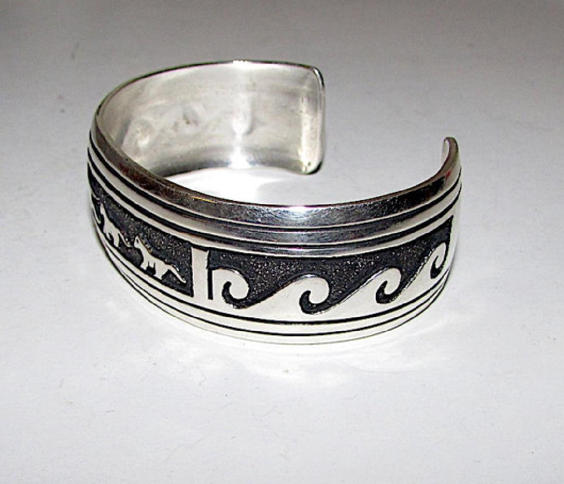 Native American TOMMY SINGER Navajo Sterling Silver - 2