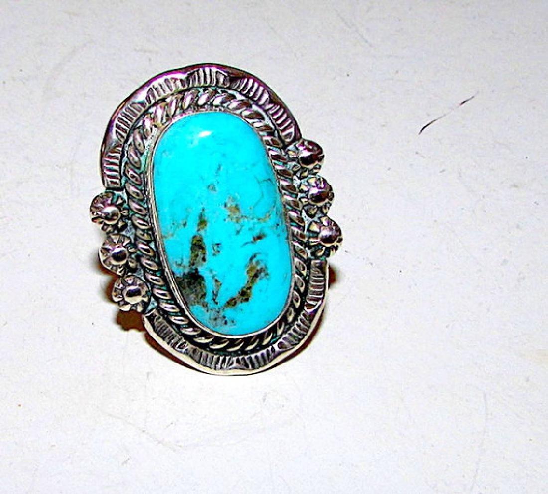 Vintage Native American Navajo Sterling Silver Dry