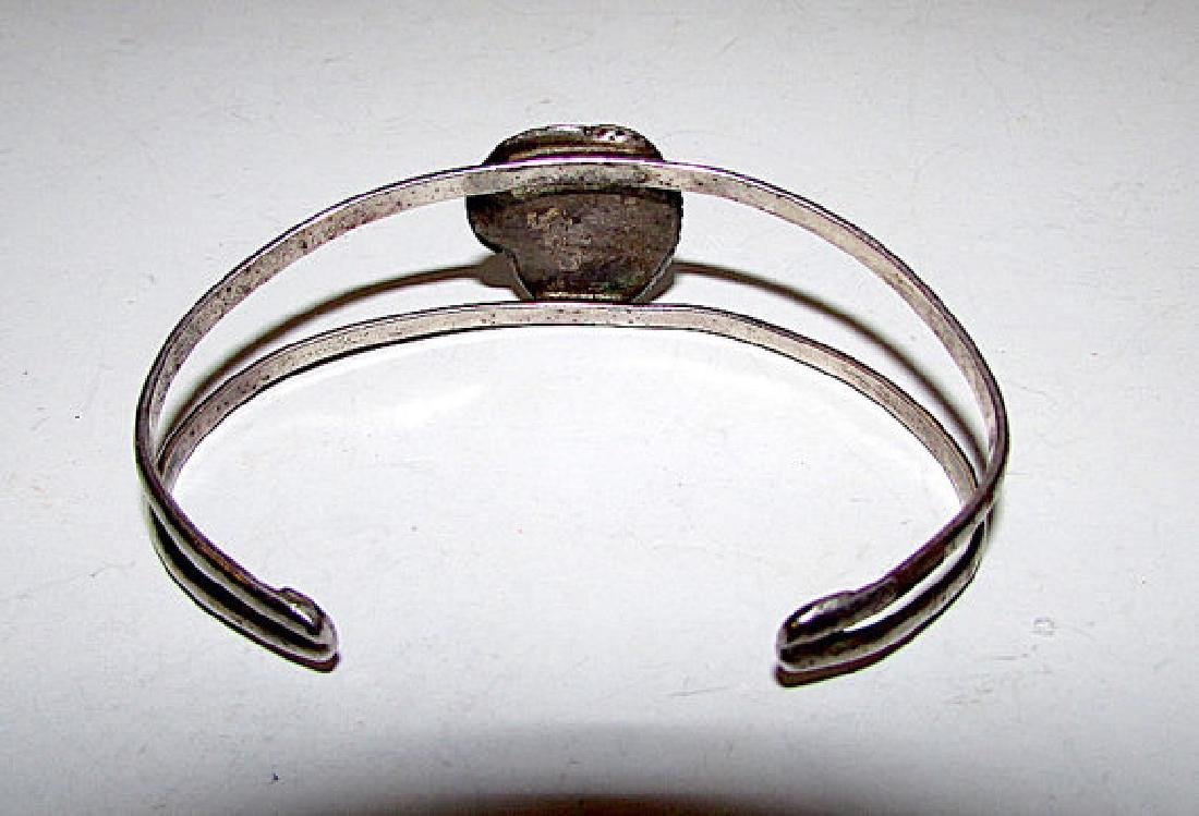Old Pawn Navajo Sterling Silver Pilot Mountain Mine - 2