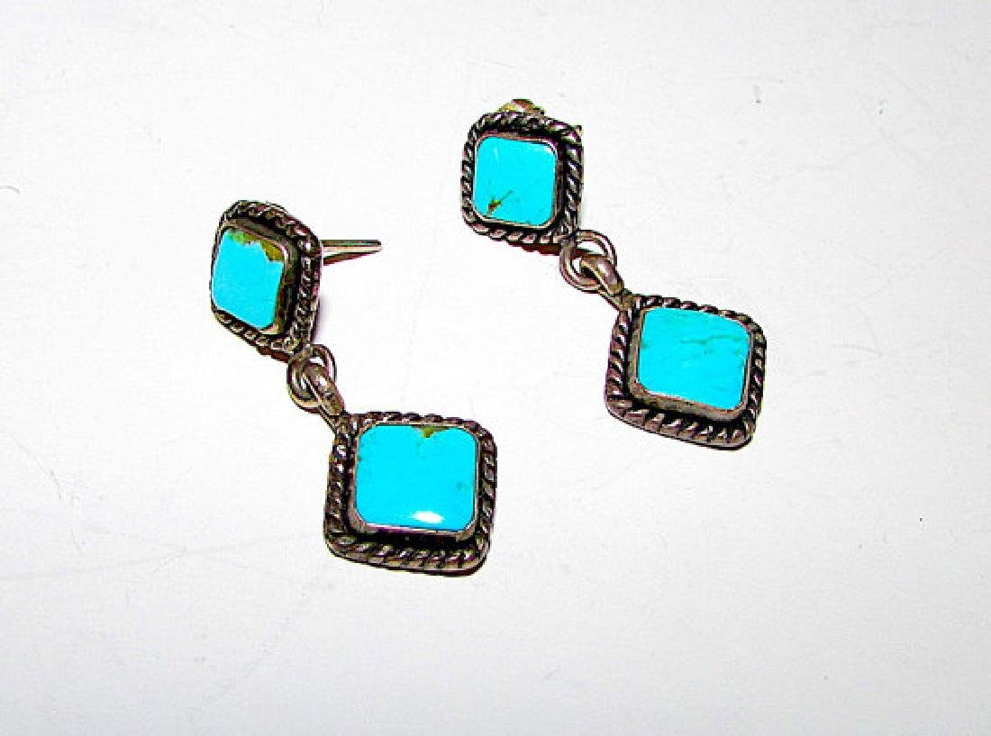 Southwestern Trading Post Sterling Silver 925 Turquoise