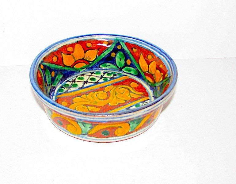 Vintage Mexican Talavera Pottery Bowl