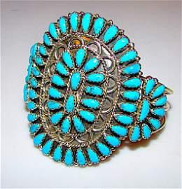 Vintage Native American Navajo Sterling Silver
