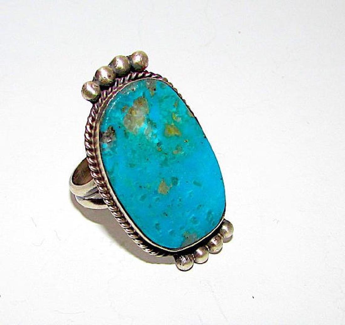 Navajo Selena Warner Sterling Silver Bisbee Mine - 2
