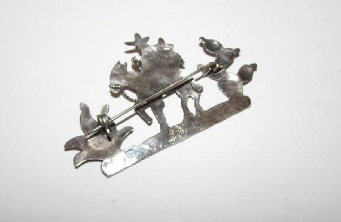 TAXCO Sterling Silver 925 Mexican Cowboy Vaquero Donkey - 2