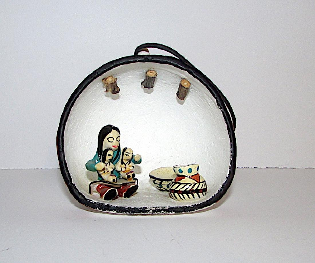 Acoma Pueblo Pottery Ornament