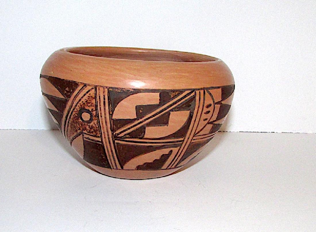 Hopi B Polacca Eye Dazzler Polychrome Pottery