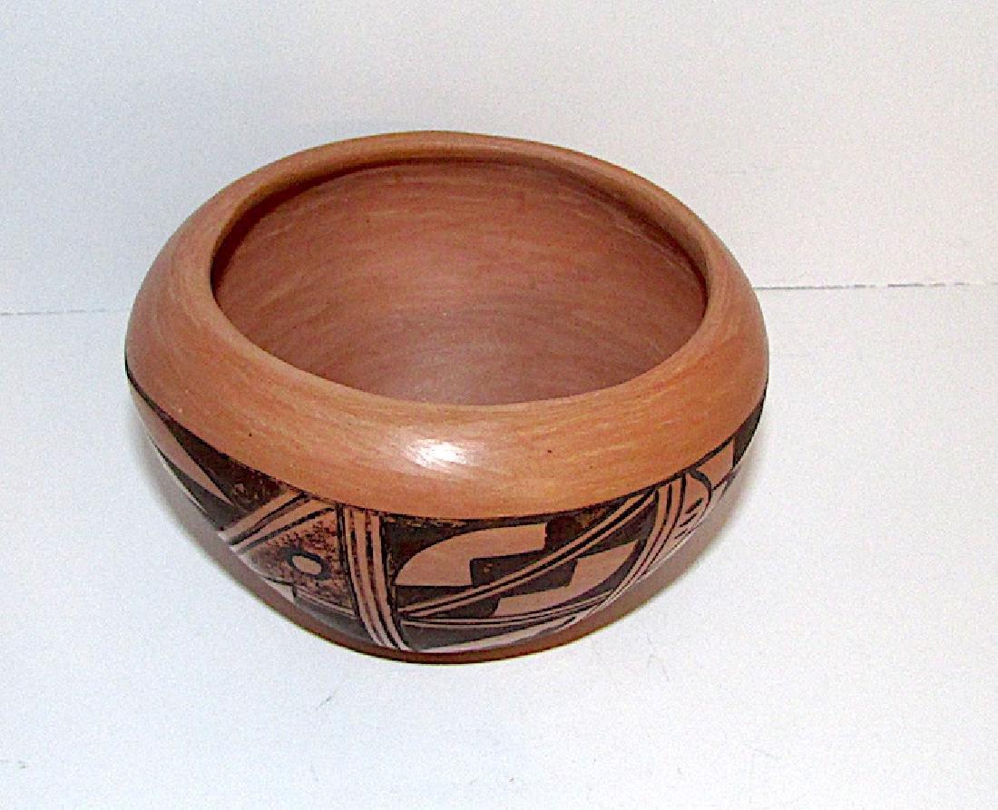 Hopi B Polacca Eye Dazzler Polychrome Pottery - 2