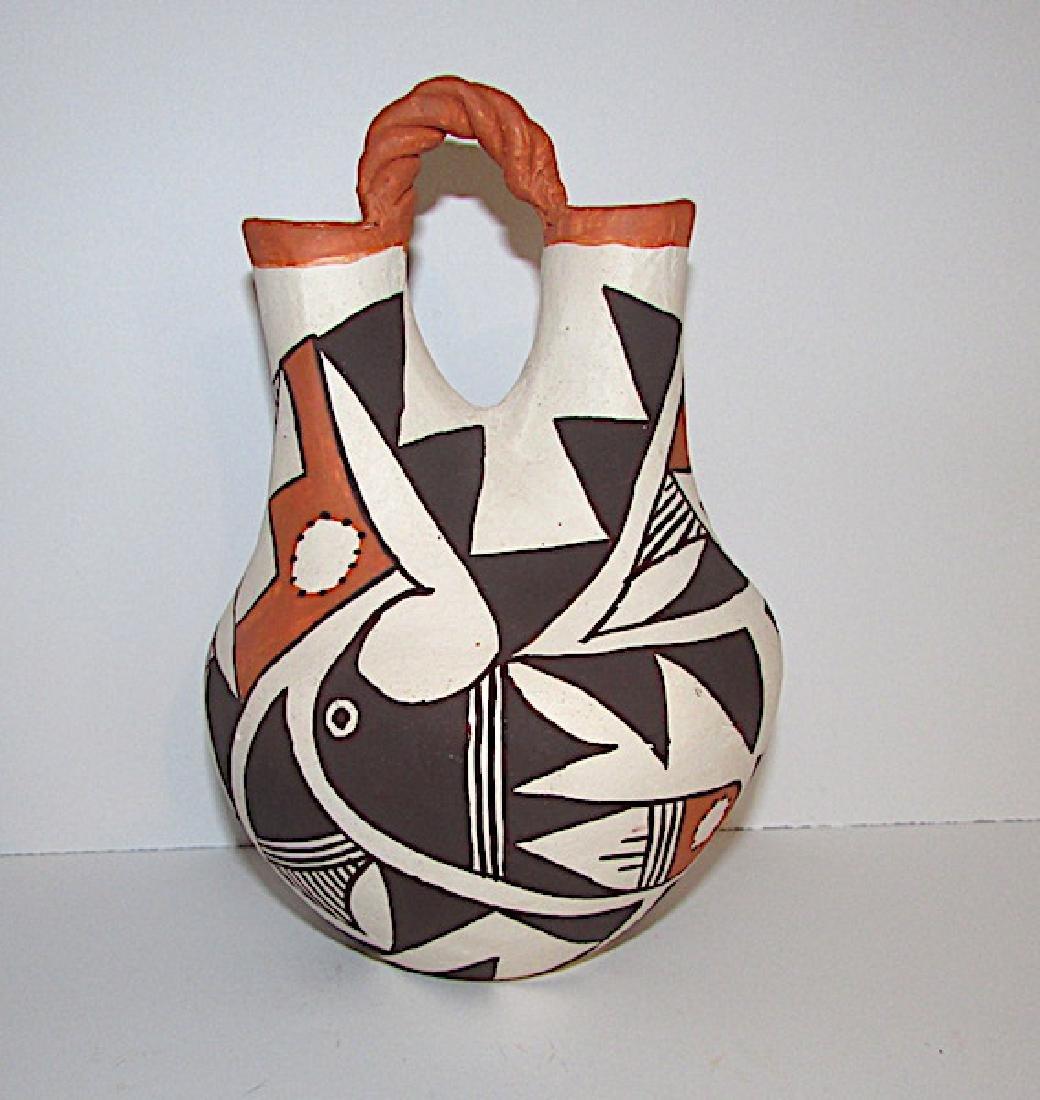 Acoma Pueblo Wedding Vase