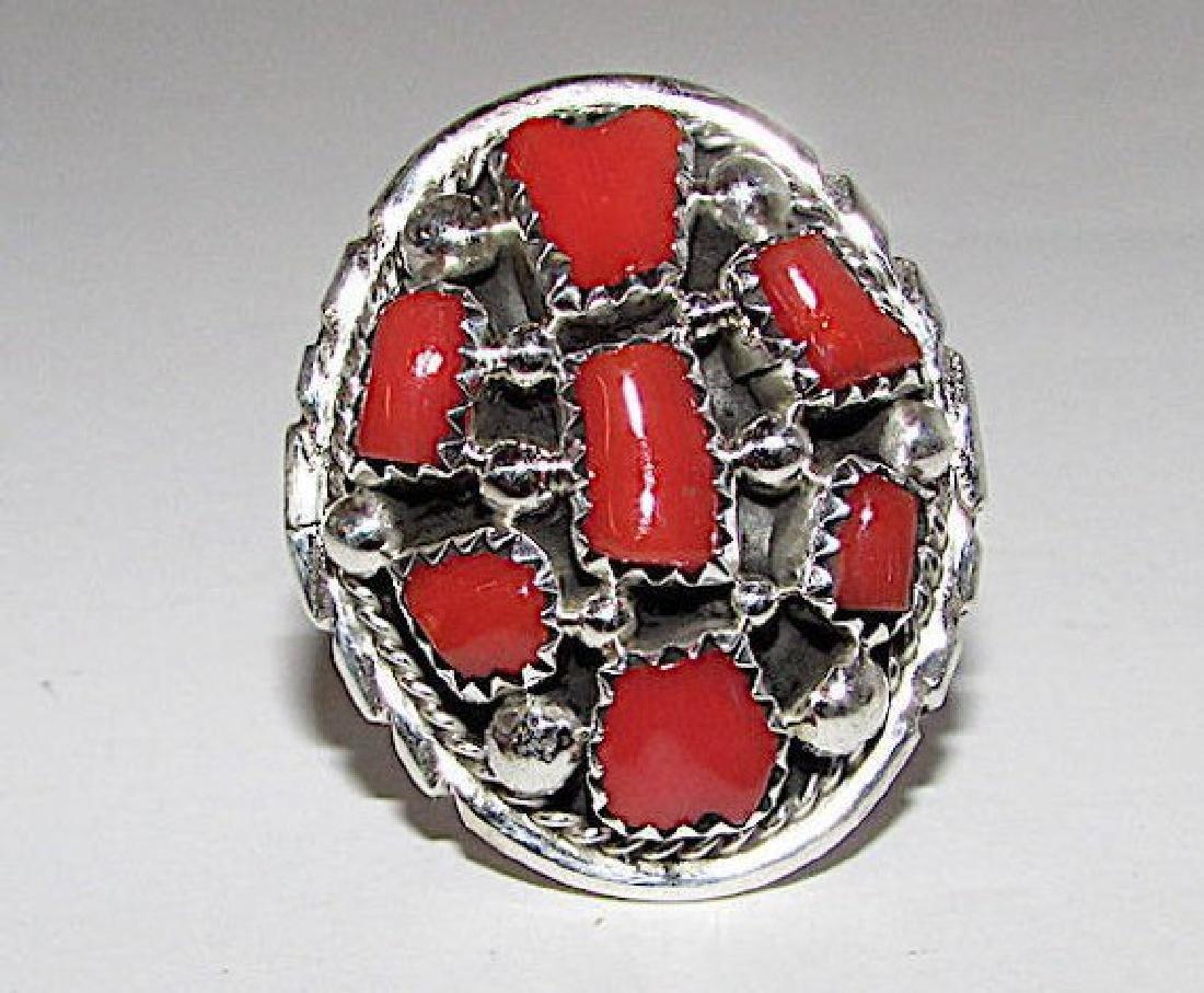 Vintage Old Pawn Native American Navajo Sterling Silver