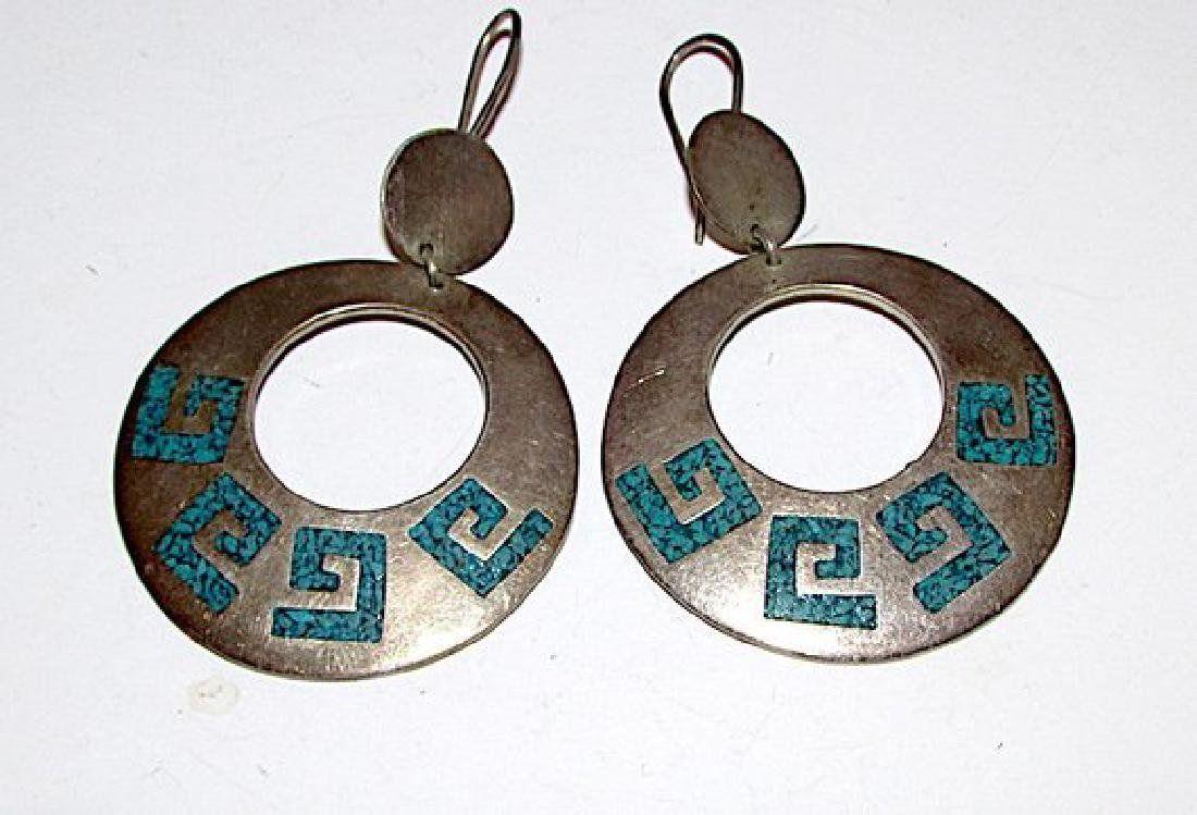 TAXCO Mexican Sterling Silver 925 MOD ierced Dangle